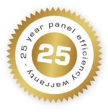 Garanzie sulla potenza dei nostri moduli per 25 anni. Impianti Fotovoltaici Lazio