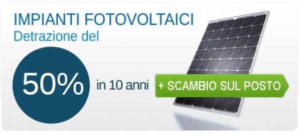 Casa immobiliare accessori detrazione fiscale fotovoltaico for Detrazione fiscale mobili